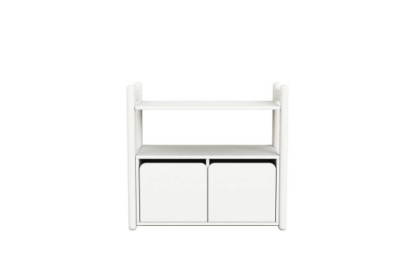 FLEXA Shelfie Mini C – Kommode Lack Weiß