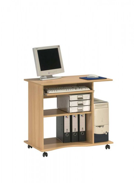 MAJA OFFICE 40245531 Computertisch Buche